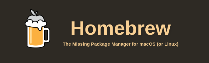 Homebrew macOS package manager