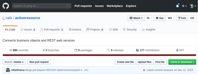 Ruby on Rails Active Resource repository