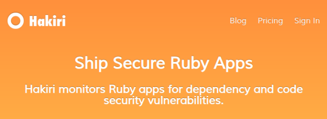 Ruby on Rails Security Audit with Hakiri